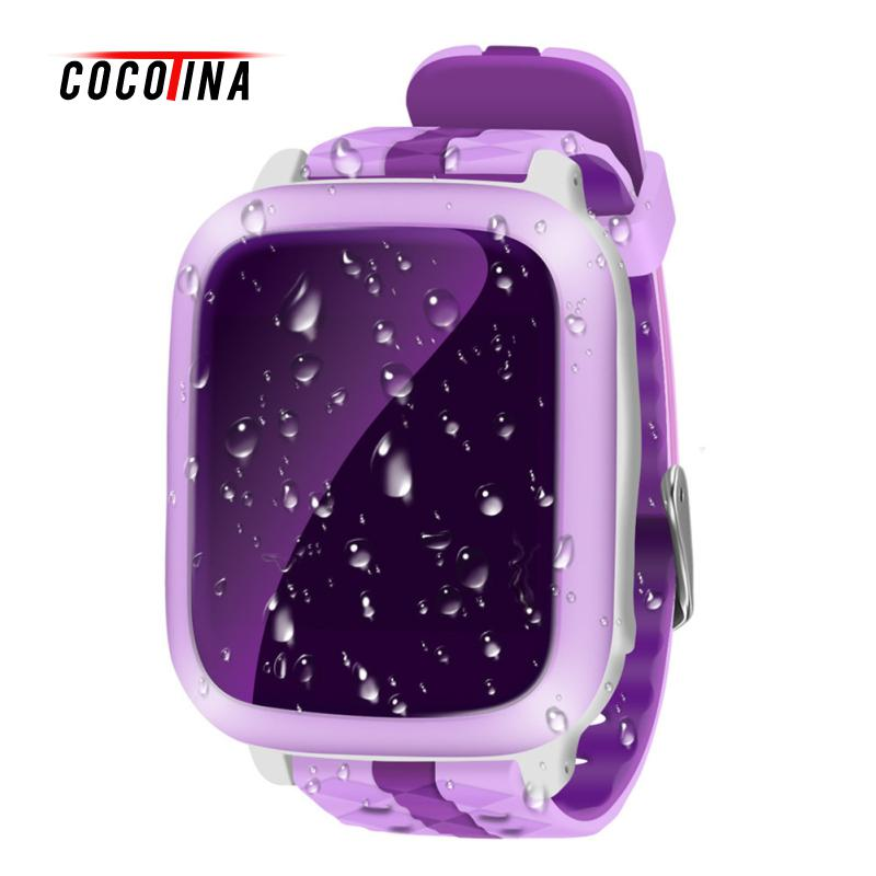 COCOTINA Children Smart Phone Watch Waterproof New GPS Positioning Color Screen Touch Screen SIM Card Wear Device ZNB1197