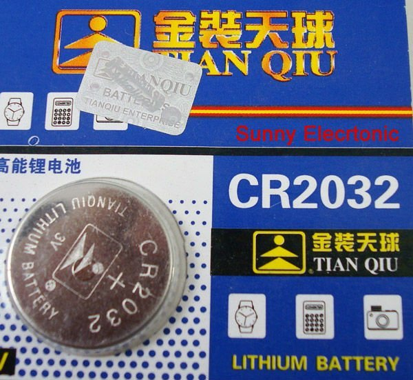 Wholesale CR2032 CR 2032 3v Lithium Battery  Cell Button Coin Battery 50pcs