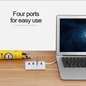 Image 2 - Universal Adapter Plug Adaptador Enchufe Multiple USB 3.0 4 Port Multi HUB Splitter for Apple Mac PC Computer Tablet Stekkerdoos