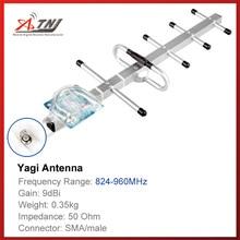 トップ品質 + 高利得 9dbi 、 ATNJ 800 900 mhz 屋外八木アンテナ gsm 2 グラム 3 グラム信号ブースター