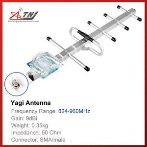 Image 1 - คุณภาพสูง + Gain 9dbi, ATNJ 800 900 เมกะเฮิร์ตซ์เสาอากาศ Yagi กลางแจ้งสำหรับ GSM 2 กรัม 3 กรัมสัญญาณ Booster