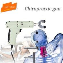 Omurga Kayropraktik 4 Kafaları kayropraktik ayarlama aleti/Elektrikli Düzeltme Tabancası Aktivatör Masajı/Dürtü ayarlayıcı