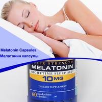 Melatonin 10mg Nighttime Sleep Aid Body Relaxation