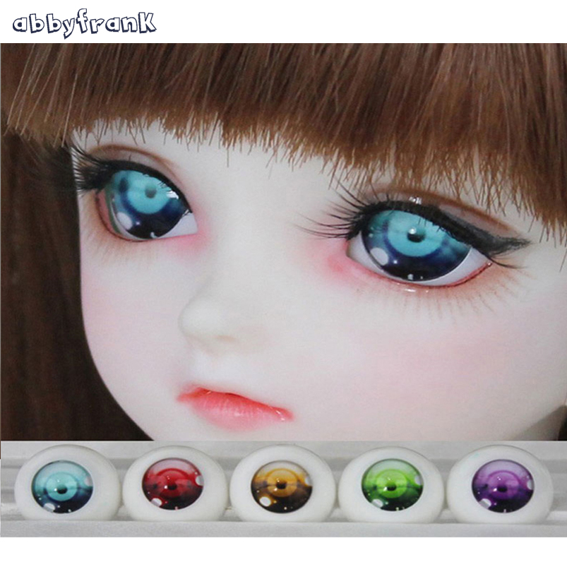 Abbyfrank BJD Eyes Acrylic Toy Eyes for Dolls For Doll Accessories 1 Pair 14mm 16mm 18mm 1/3 1/4 1/6 Toys For Children Gifts uncle 1 3 1 4 1 6 doll accessories for bjd sd bjd eyelashes for doll 1 pair tx 03