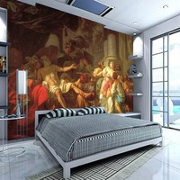 Personalized Custom Wallpaper Living Room Bedroom Den Sofa Television Continental World Famous Painting Wallpaper Limited