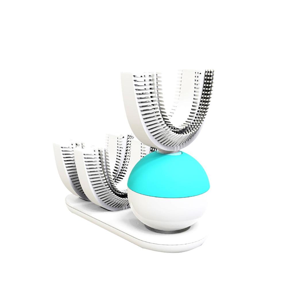 Brosse à dents électrique pour adultes 360 mise à niveau Rechargeable automatique brosse à dents blanchiment des dents FDA/IPX7 charge sans fil F4.11 - 2
