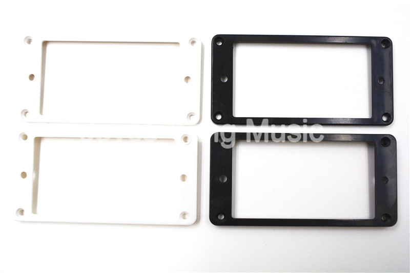 2 STÜCKE Creme Humbucker Pickups Rahmen Montage Ringe für LP E-gitarre