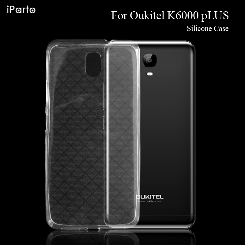 OUKITEL K6000 Plus 100% Original New High Quality Anti-Knock Shockproof Protector Soft TPU Silicone Case Cover For K6000 Plus