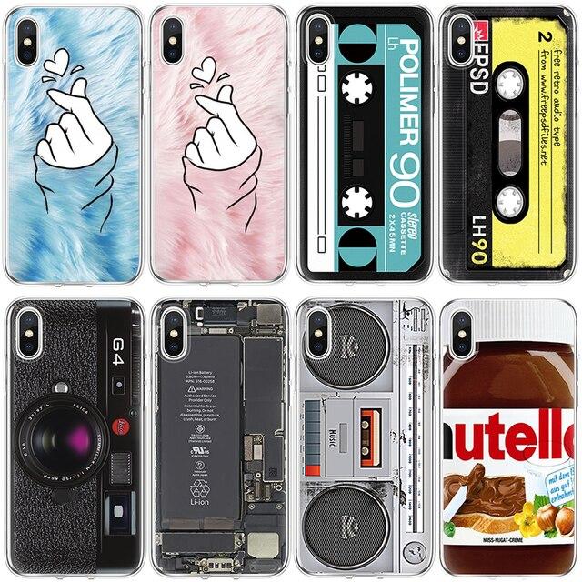 promo code 6d575 c35a8 US $1.13 14% OFF|For Cover iPhone X Xs Max XR 5 SE 6s S 7 8 Plus For Xiaomi  Mi A1 A2 5X 6X 4 4C 5 5S Plus 6 8 Mi Mix 2 2S Note 2 3 Redio TPU Case-in ...