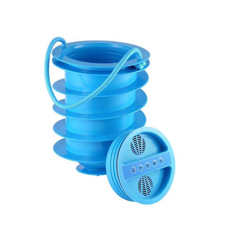 10W Bluetooth Speaker With Subwoofer, BEACH SAFE Storage, FM Radio, Power Station, Ice Bucket On Beach, Beach Vault Anti-Theft on folly beach