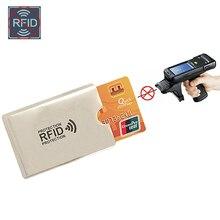 Anti Rfid font b Wallet b font Blocking Reader Lock Bank Card Holder Id Bank Card