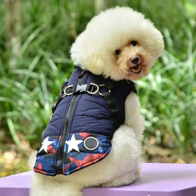 Impermeabile Cane di Animale Domestico Del Cucciolo Vest Jacket Chihuahua Abbigl