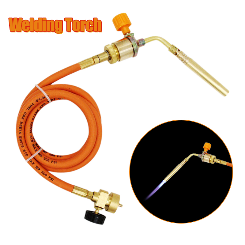 Torch Free Gun Soldering Oxygen Gun Liquefied 1 Torch With Welding Welding Plumber Gas 5m Heating Gas Hose