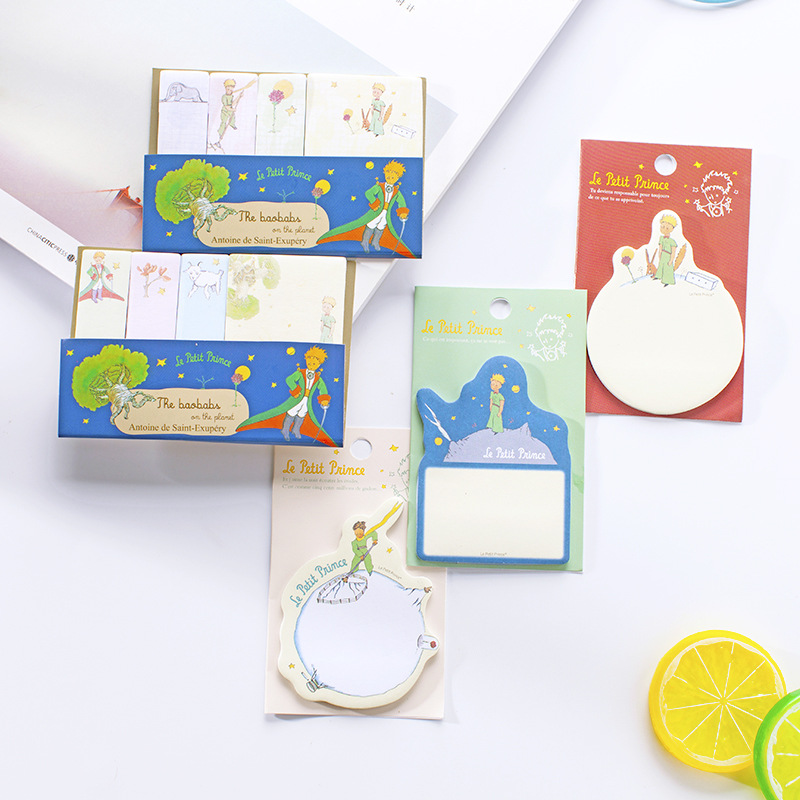 5 pcs Little Prince sticky note for agenda planner Diary book sticker marker Memo pads Stationery Office School supplies F835 ночники trousselier светильник ночник в форме куба little prince