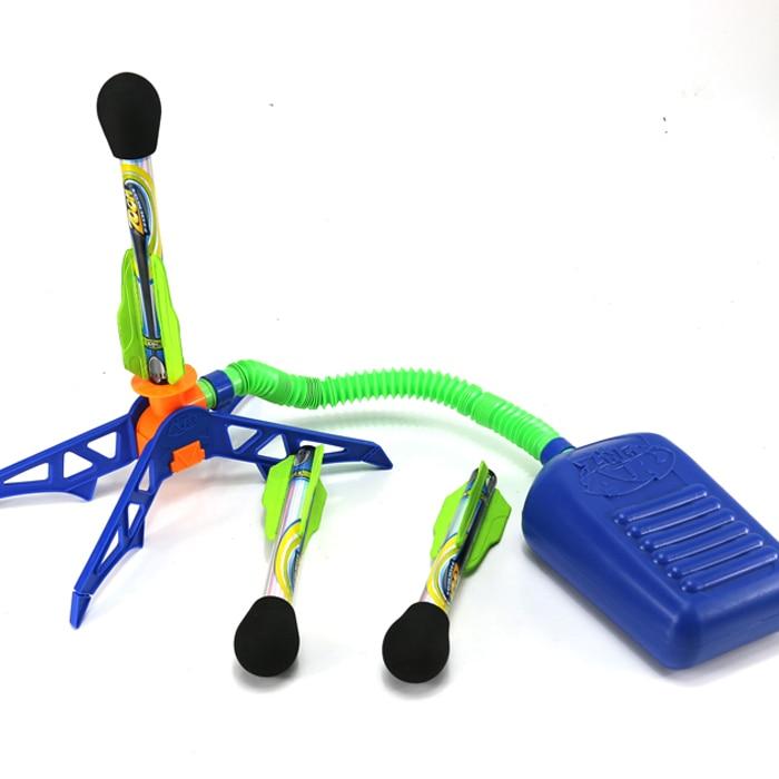 2018 Outdoor Toys Bubble Rocket Set Sport Play Rocket Jump ...