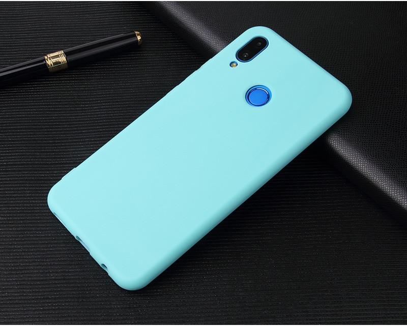 Silikonowe etui w kolorze - błękit.