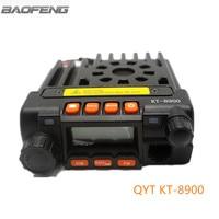 Mini Car Radio QYT KT8900 Dual Band Mobile Radios Transceiver Walkie Talkie VHF UHF For Car