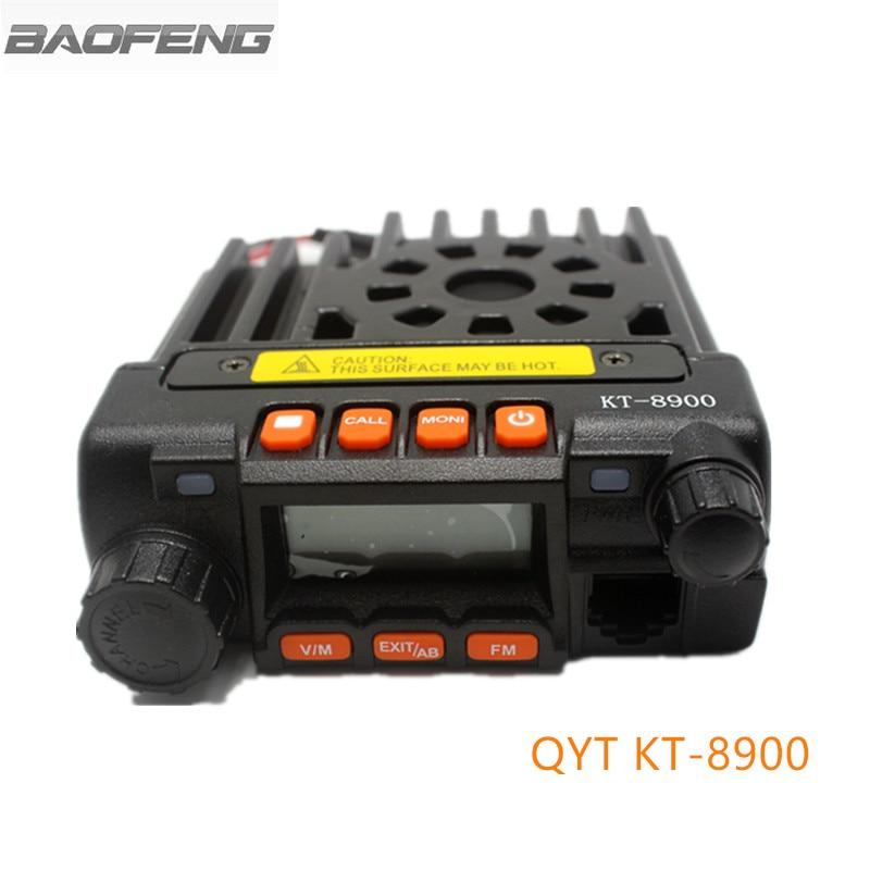 Mini Car Radio QYT KT8900 Dual Band Mobile Radios Transceiver Walkie Talkie VHF/UHF  For Car BusMini Car Radio QYT KT8900 Dual Band Mobile Radios Transceiver Walkie Talkie VHF/UHF  For Car Bus