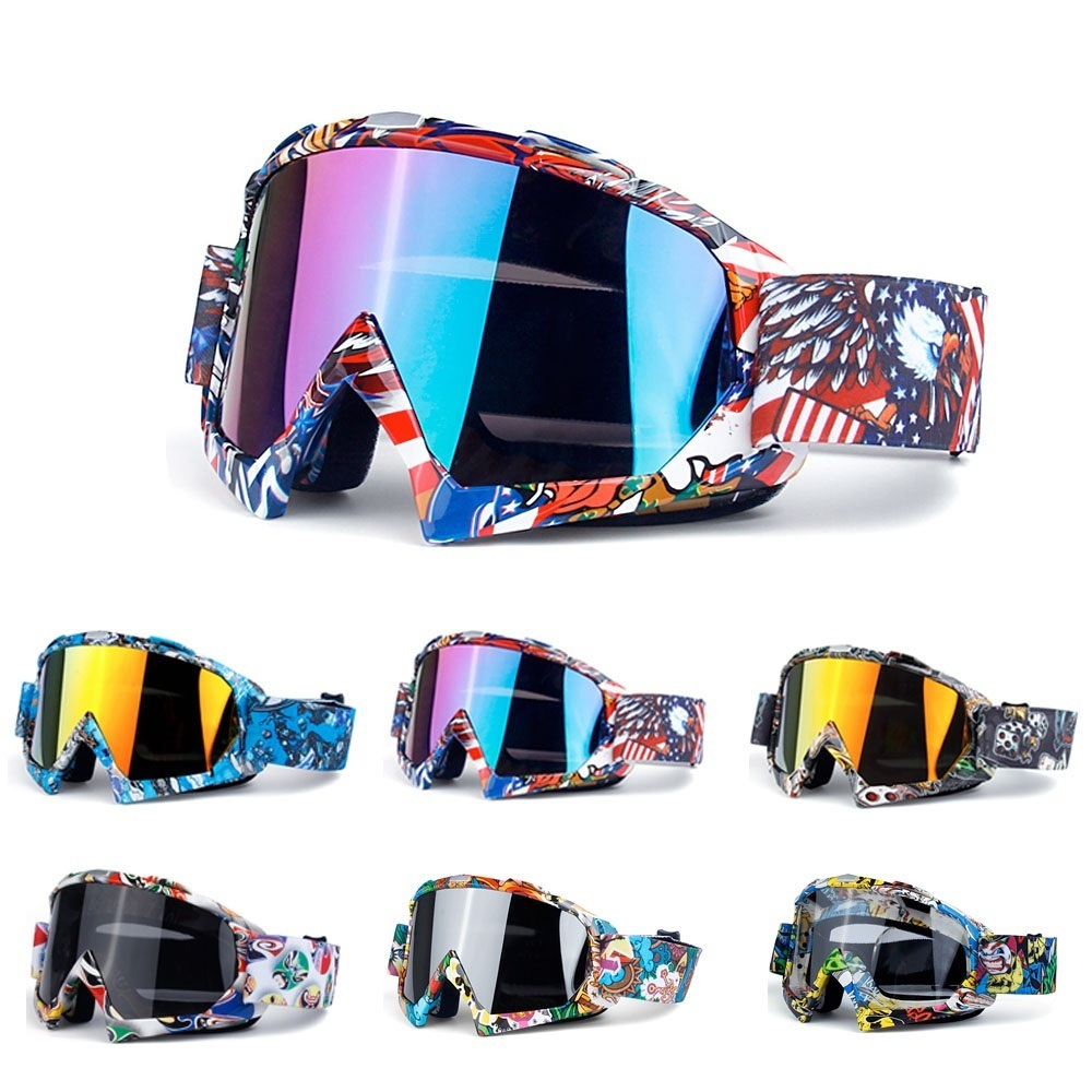 Motorcycle glasses motocross goggles moto racing men women mx goggles for motorbike dirt bike atv ski