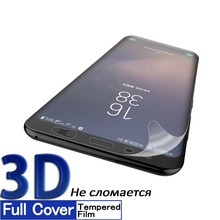 3D Soft Film For Samsung Galaxy S8 S9 HD Full Coverage Screen Protector Plus Note8 Not Glass