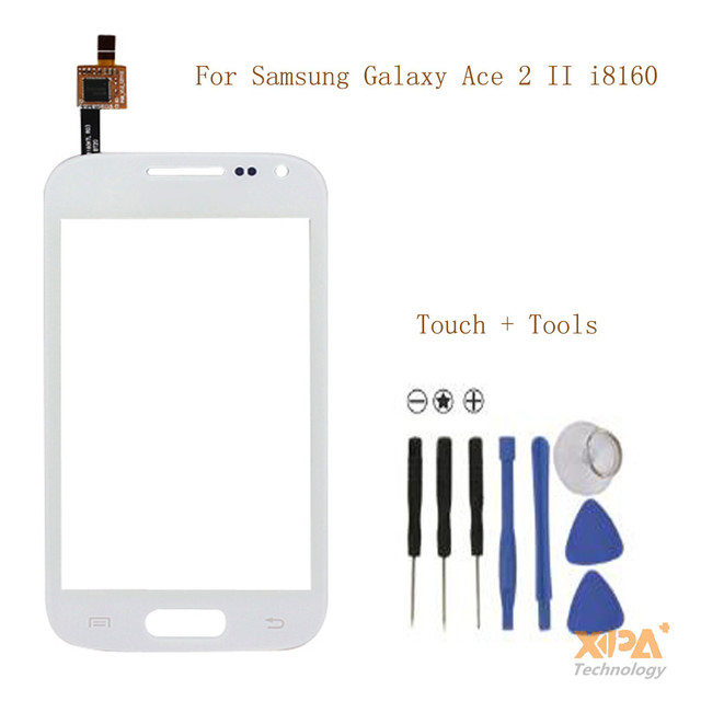 Replacement For Samsung Galaxy Ace 2 i8160 GT-i8160 Touch Screen With Digitizer Panel Sensor Lens Glass+Free Tools,Free Shipping