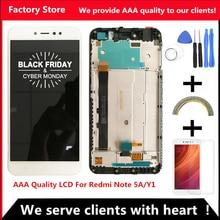 1920*1080 5,5 дюймовый AAA качественный ЖК-дисплей+ рамка для Xiaomi Redmi Примечание 5A ЖК-экран для Redmi Note 5A Prime Y1/Y1 Lite lcd