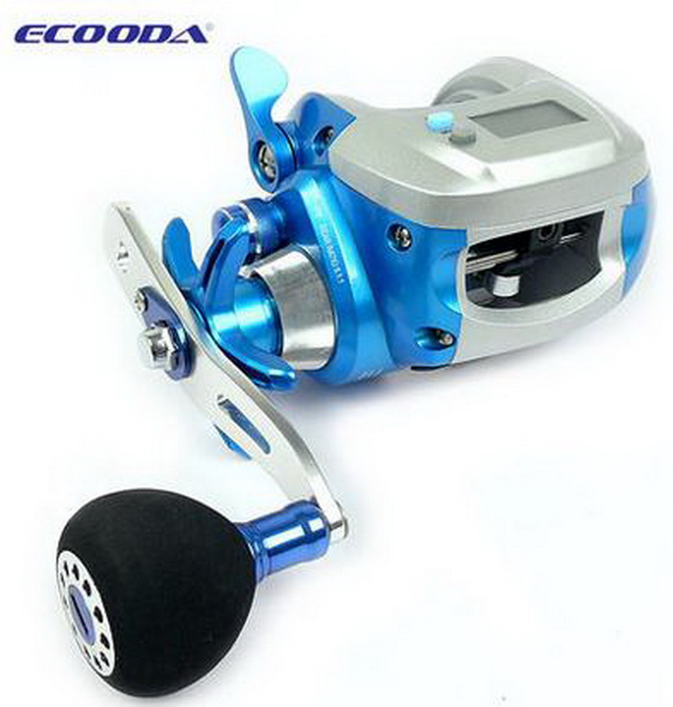 Ecooda ofuna precise line counter baitcasting fishing reel for Fishing line counter