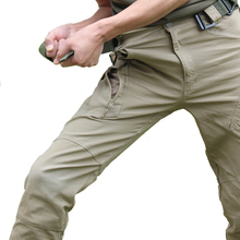 IX9(II) Military Tactical Cargo Pants Men Combat SWAT Army Military Pants Cotton Pockets Paintball Clothing Casual Trousers