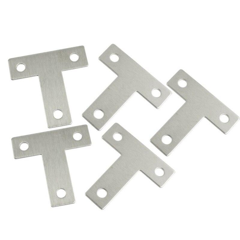 Möbel Hardware Hardware 12 Stücke Winkel Platte Ecke Brace Flache L Form Reparatur Halterung 80x80mm Silber