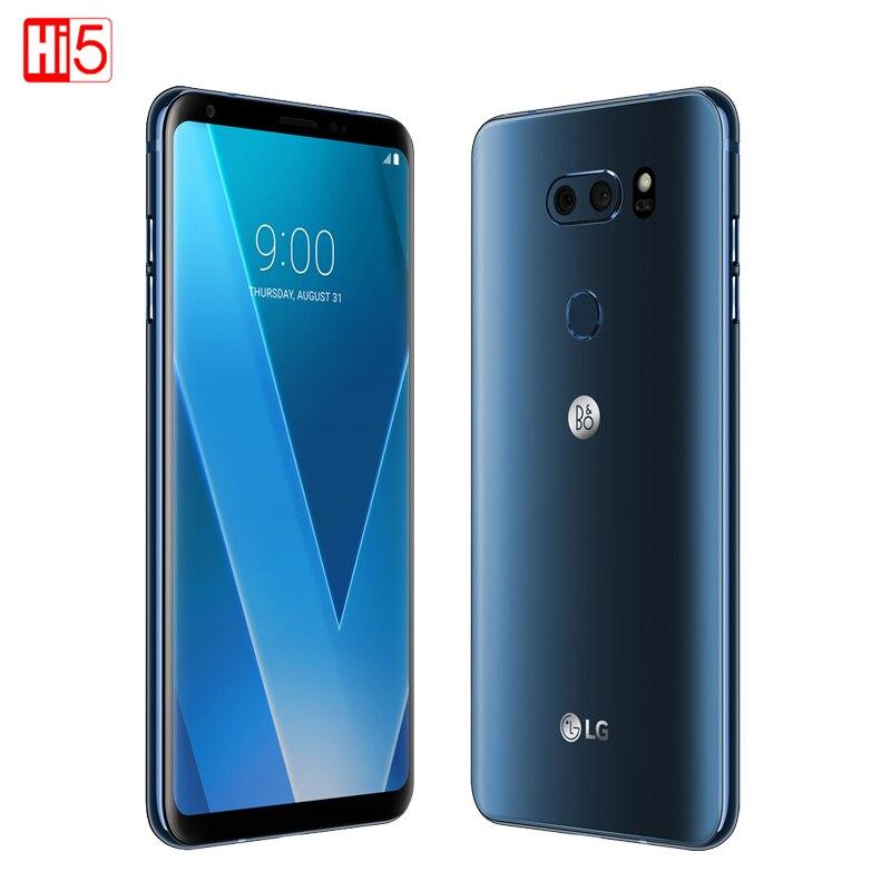 Разблокирована LG V30 плюс мобильный телефон V30 + 4 ГБ Оперативная память 128 ГБ Встроенная память Octa Core Dual Sim 6,0 ''13MP и 16MP Камера 4 г LTE смартфон 3300 мА...