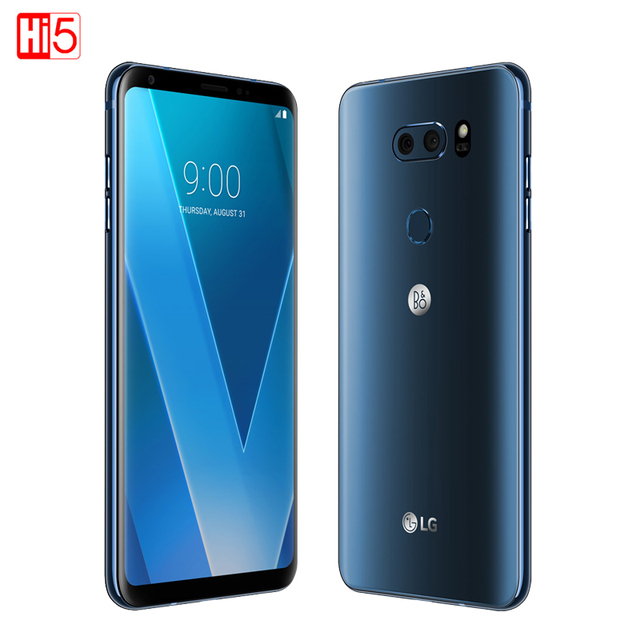 unlocked lg v30 plus mobile phone v30 4gb ram 128gb rom octa core dual sim  6 0 13mp16mp camera 4g lte smartphone 3300mah