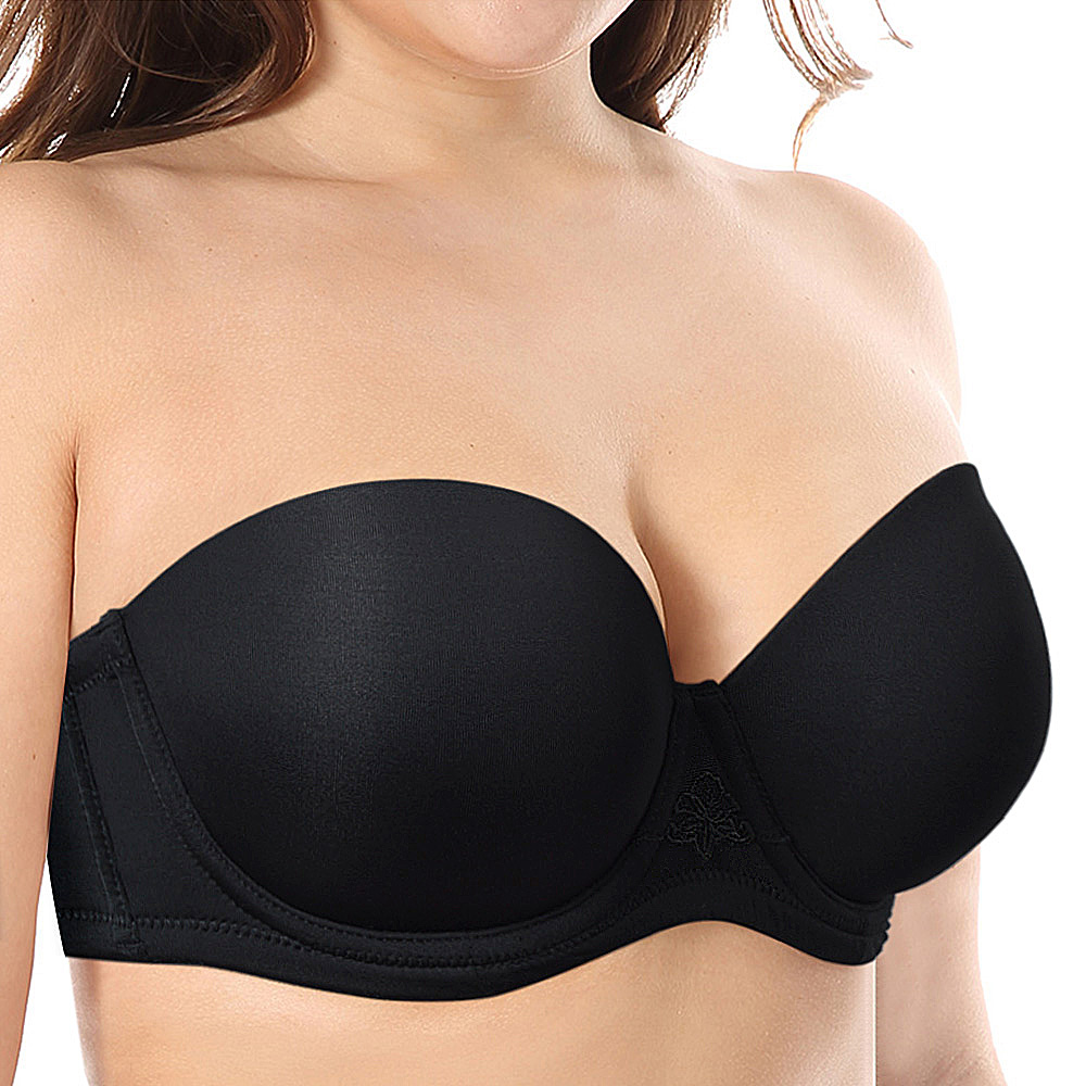 0fcc214bbef8c Detail Feedback Questions about VOGUESECRET Push Up Strapless Invisible  Solid Silicone Bras Wedding Bralette Women Removable Anti slip Straps  Halter Plus ...