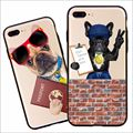 Fashion Cute Animals Handsome Dog Phone Cover For Iphone 5 5s 6 6s 6Plus 7 7Plus Case Soft TPU Silicon Back Cases Fundas Coque