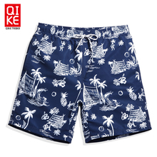 Summer mens swimming shorts praia hawaiian bermudas swimwear men bathing suit swimsuits sexy navy plavky mesh liner beach surf