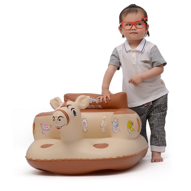 Bebê sofá insuflação de ar, cadeira de bebé multifuncional criança cadeira de jantar/cadeiras de lavagem cadeira bumbo BBZY004