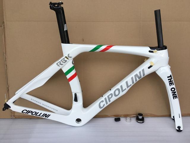 Cipollini Road Bike Carbon Frame 3K RB1K Racing Bicycle Frameset T1000 Carbon Road Frame Fork+Seatpost+Clamp+Headset