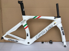 Cipollini szosowe rama karbonowa 3K RB1K wyścigi rowerów Frameset T1000 węgla drogowego rama widelec + sztyca + zacisk + zestaw słuchawkowy