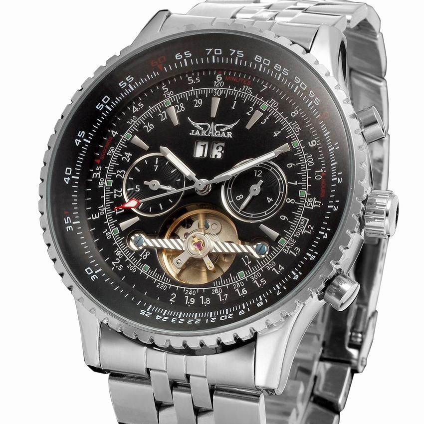Men Sport Wrist Watch Automatic Mechanical Tourbillon Whatch