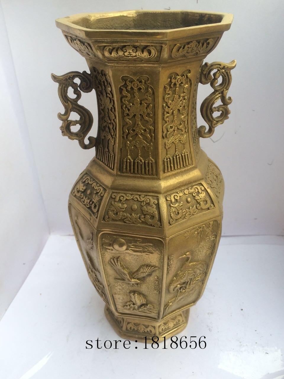 antike chinesische messing vase kaufen billigantike chinesische messing vase partien aus china. Black Bedroom Furniture Sets. Home Design Ideas