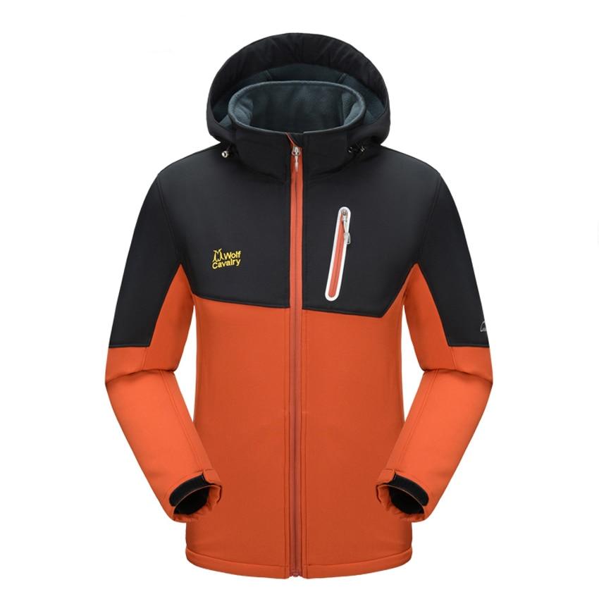 Men Women Winter Softshell Fleece Jackets Outdoor Sports Windbreaker Warm Camping Trekking Hiking Ski Fishing Brand Coats MA187