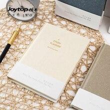 Joytop Study Plan Notebook Simple Fresh Notebook Multi-function Handbook A5 Thicken 1PCS