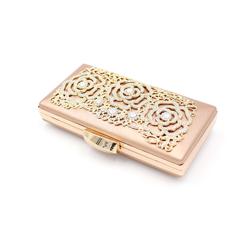New Arrivals Wedding Bags Fashion Female Clutch Bags With Chain High grade Women Evening Bag Luxurious Party Ladies Handbags in Top Handle Bags from Luggage Bags