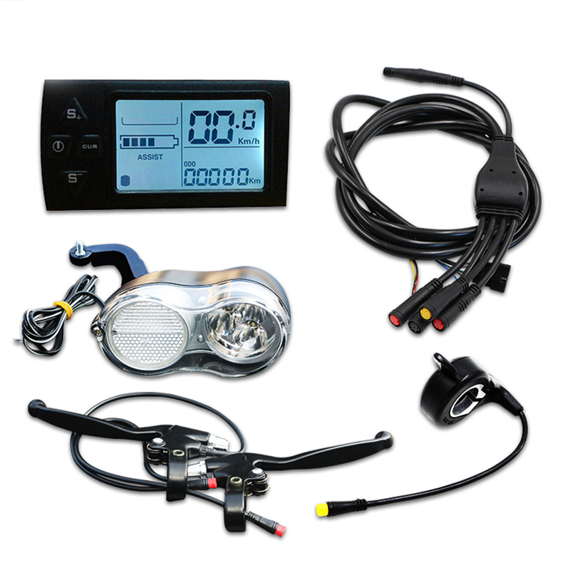 Electric Bike Conversion Kit Without Battery And Motor Use for Ebike Repair JSE-012 лобзик кратон jse 07 3 03 02 012