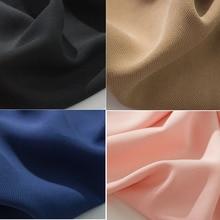 PPCrafts Тенсел шелковые, фабричные ткани с медным аммиаком скраб частицы Тенсел ткань Летняя мода сплошной цвет ткань саржа