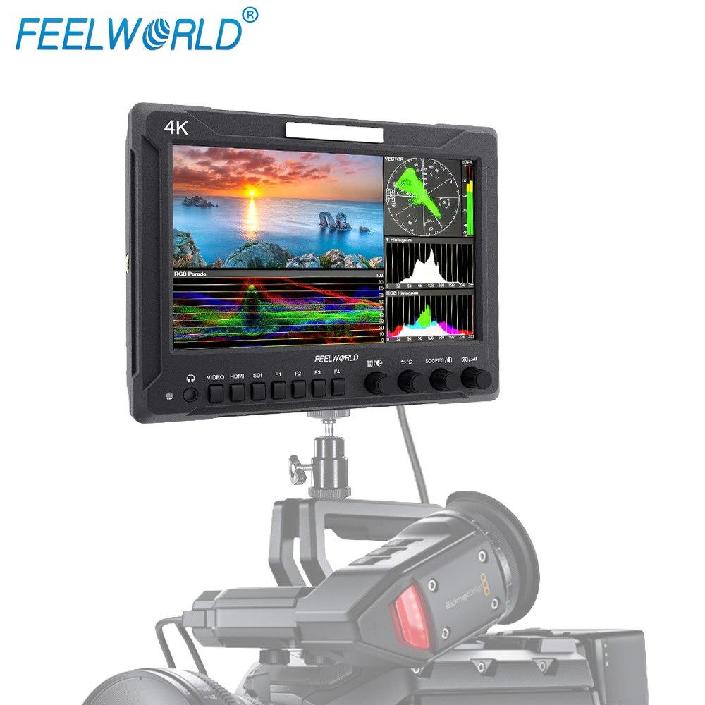 FEELWORLD Z72 7 Inch Rugged Aluminum Housing FHD SDI/ 4K HDMI DSLR Field On-camera Monitor