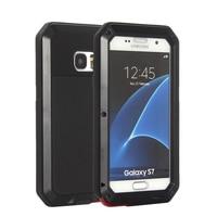 Impermeabile Antiurto Contro Lo Sporco Copertura Della Cassa di Alluminio Gorilla Metallo Per Samsung Galaxy S3 S4 S5 S6 S6 Bordo Bordo S7 s7 personalità