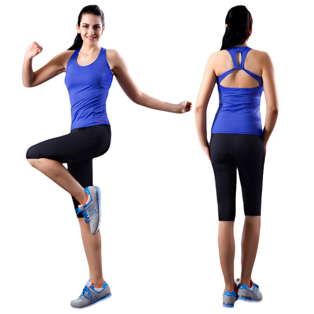 2016 new yoga for women fitness slim running clothes gym