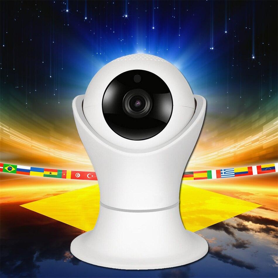 1080 P WIFI IP Caméra 360 Caméra de Sécurité IP Sans Fil Caméra avec 3D Navigation Panorama Vue Nuit Vision Deux-Way Audio SD carte