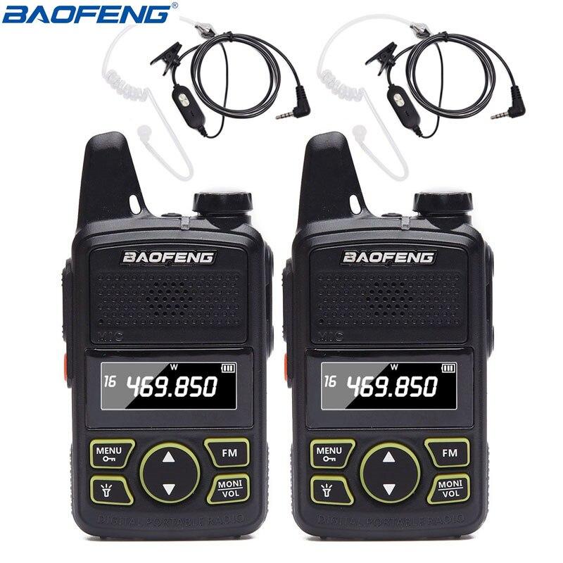 dc78a3e0f88 2PCS BAOFENG BF-T1 Kids Radio MINI Talkie Walkie UHF 400-470MHZ 20 ...
