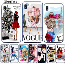For Samsung Galaxy A30 VOGUE Christmas Sexy Bikini Girl Soft TPU silicone Phone Case For Coque A10 A20 A30 A40 A50 A70 A7 Cover(China)